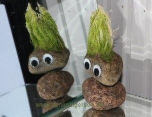 Supernem trold fra min blog: http://agnesingersen.dk/blog/nemtrold/ easy creative troll craft kreativ Troll kinder basteln