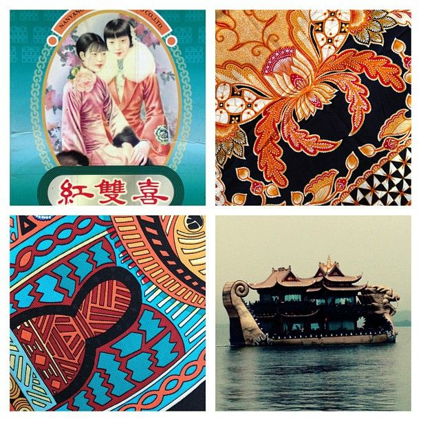 A truly inspirational day yesterday in Hangzhou, the city of silk and natural beauty #silk #hangzhou #brights #1930's #packaging #thesilkvault #inspirational #prints #westlake #dragonboat