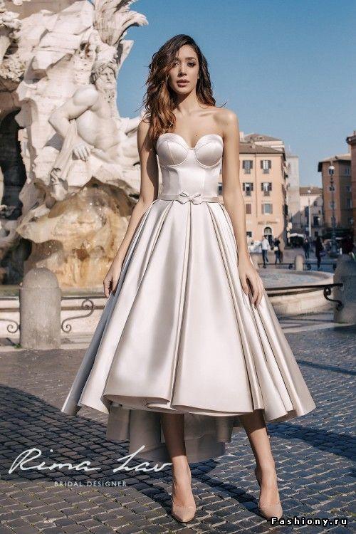 Удобные свадебные платья, возможно ли это? Rima Lav 2018
