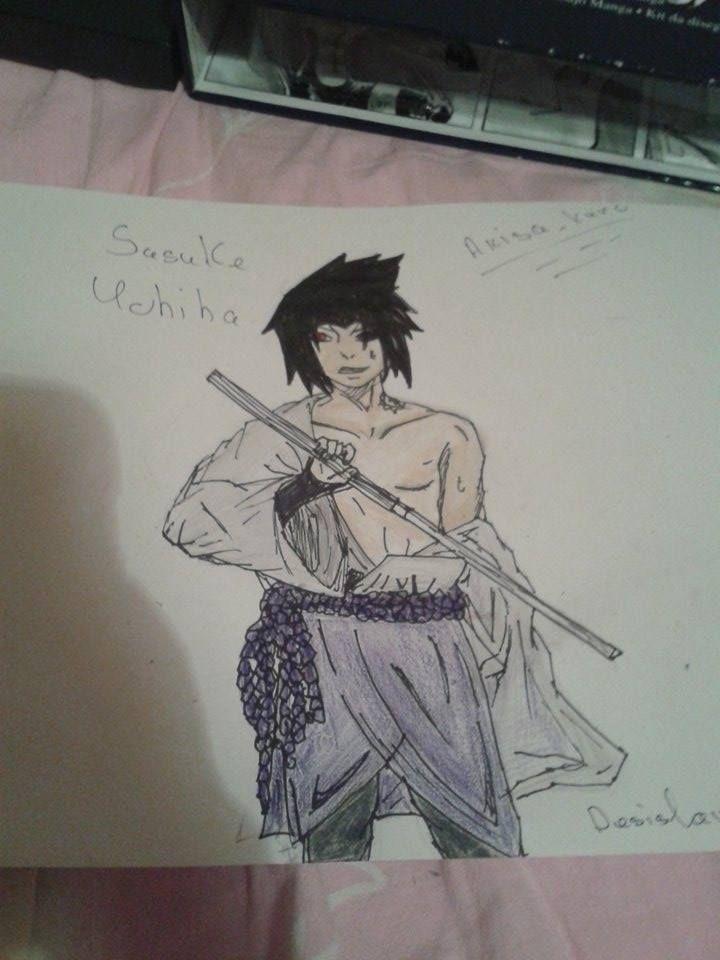 Sasuke Uchiha  #drawing #anime #sasukeuchiha