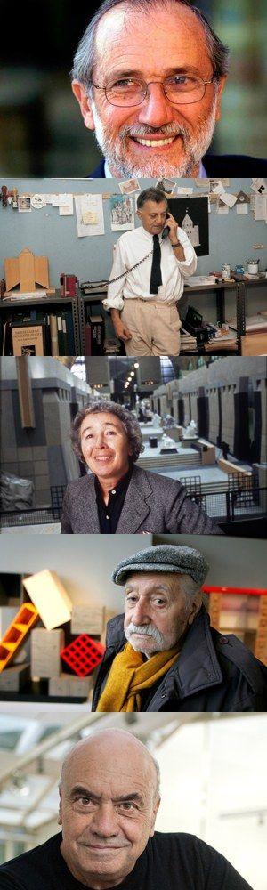 Cinque grandi architetti italiani contemporanei