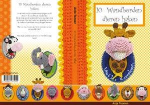 Haakboek 10 wandborden dieren haken