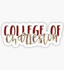 College of Charleston - Style 1 Sticker