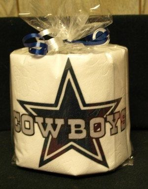 Dallas Cowboys Toilet Paper Heat Pressed By Rhollid On