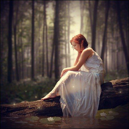 Magical Forest Photo Photoshop Tutorial - This photo ...