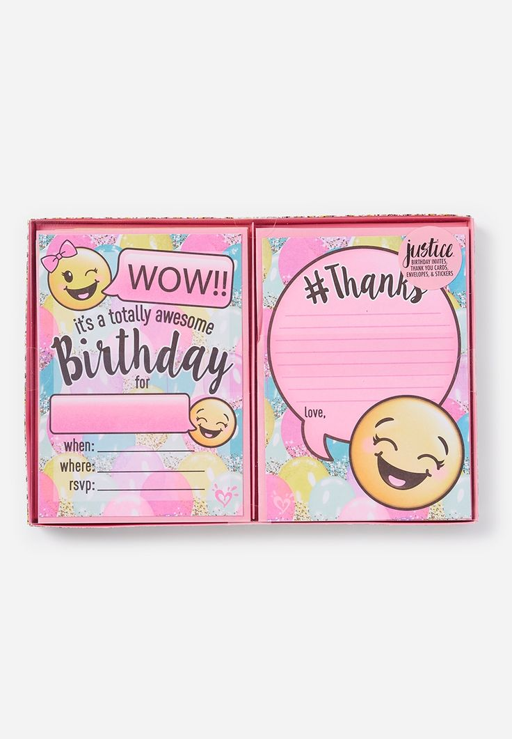 25 best Emoji invitations ideas – 12th Birthday Invitations