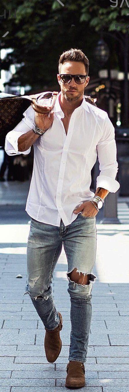 11 Jenseits cooler Outfit-Ideen, die Sie von diesem Street Style-Gott stehlen können.