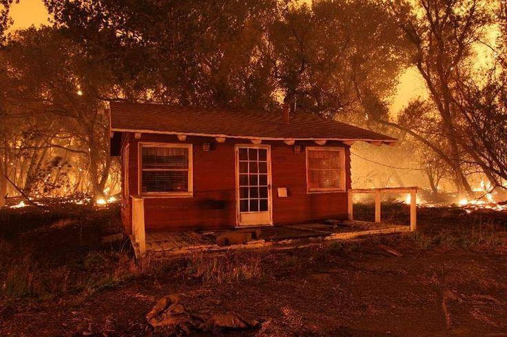 El cambio climático duplicó el área forestal incendiada en el oeste de EEUU