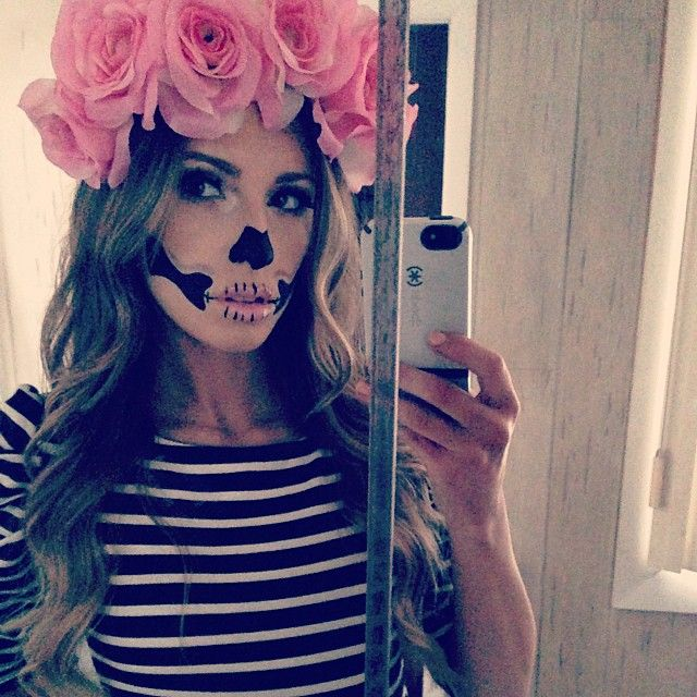 megthedestroyerrr's sugarskull halloween look! Tag your pics with #Halloween & #SephoraSelfie for a chance to be on our board! #Sephora