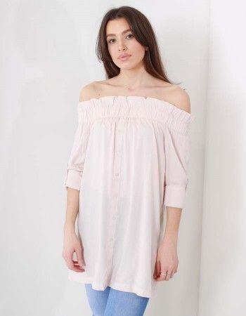 Mink Pink Wanderlust Midi dress Pale Pink