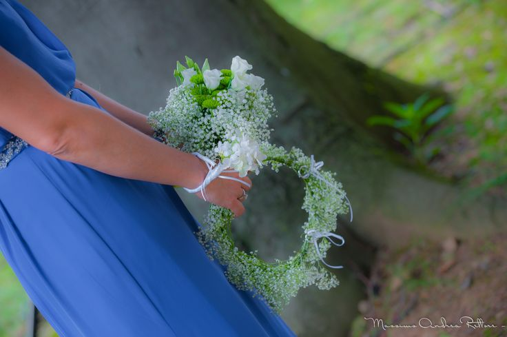 maid of honor, corsage, mini-bouquet & ring bearer