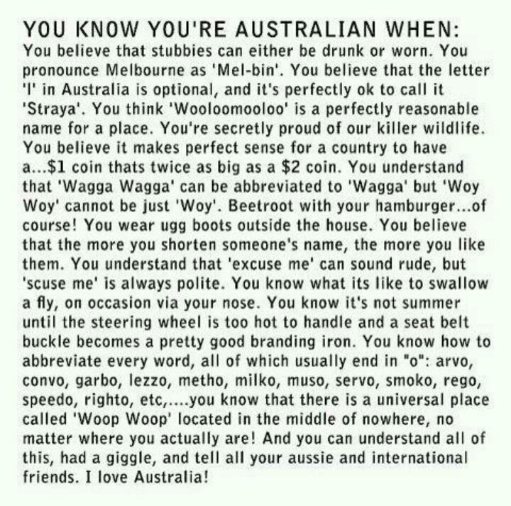 Happy Straya Day ✮ www.pinterest.com/WhoLoves/Australia ✮ #Australia