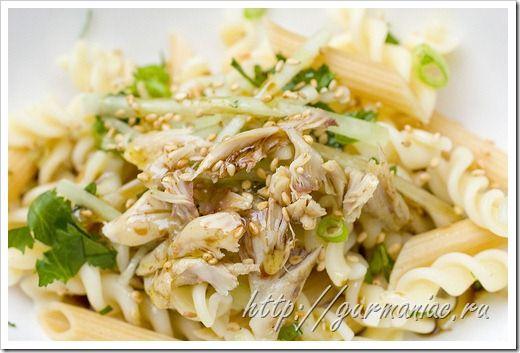Рецепты салатов из курицы желудков