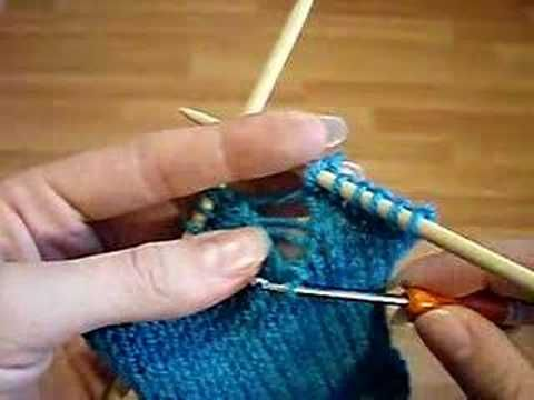 FIXING DROPPED STITCHES IN KNITTING Free Knitting Projects