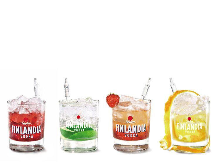 Finlandia Vodka cocktails ... Aivan ihanan raikkaan näköisiä drinksuja! Nam! =) #viina #alkoholi #mainos
