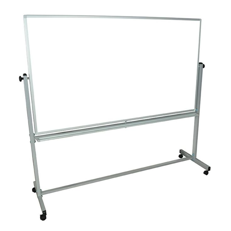 Double Sided Magnetic White Board 46x77x5