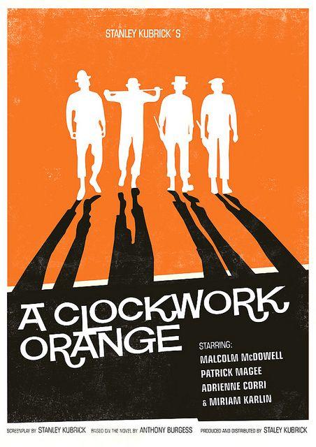 Clockwork Orange poster by h4ndz, via Flickr