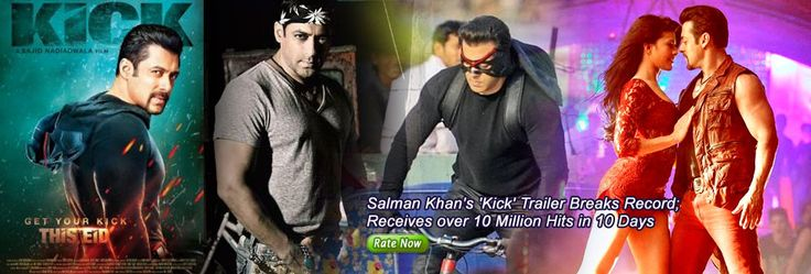 Salman Khan's 'Kick' Trailer Breaks Record; Receives over 10 Million Hits in 10 Days