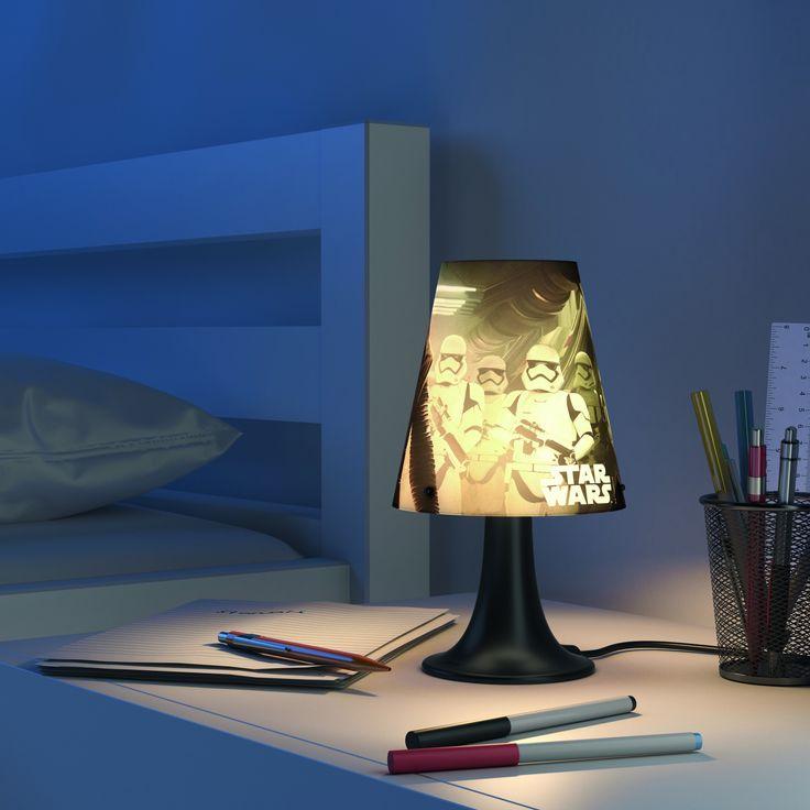 Tafellamp Philips Disney Star Wars VIII Kylo Ren 7179530P0 - Disney nieuwe collectie - Lamp123.nl