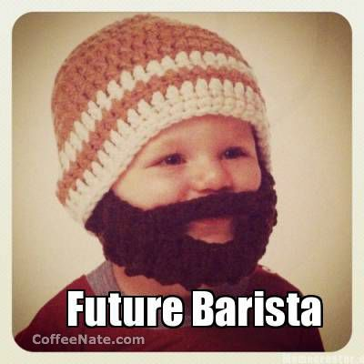 Monday Morning #Coffee Meme :: Future Barista