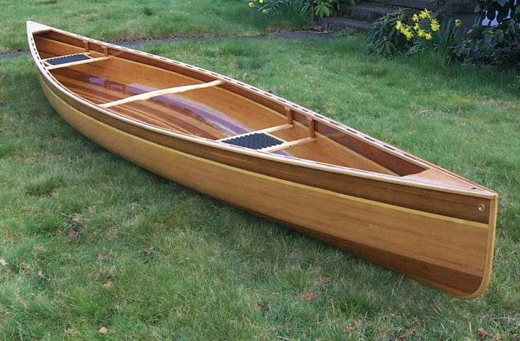Instructions of building a cedar strip canoe | Wooden ...