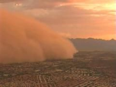 I have a new appreciation for dust storms now that I live in the Texas Panhandle where wind can turn the sky orange and your entire house is filled with grit.