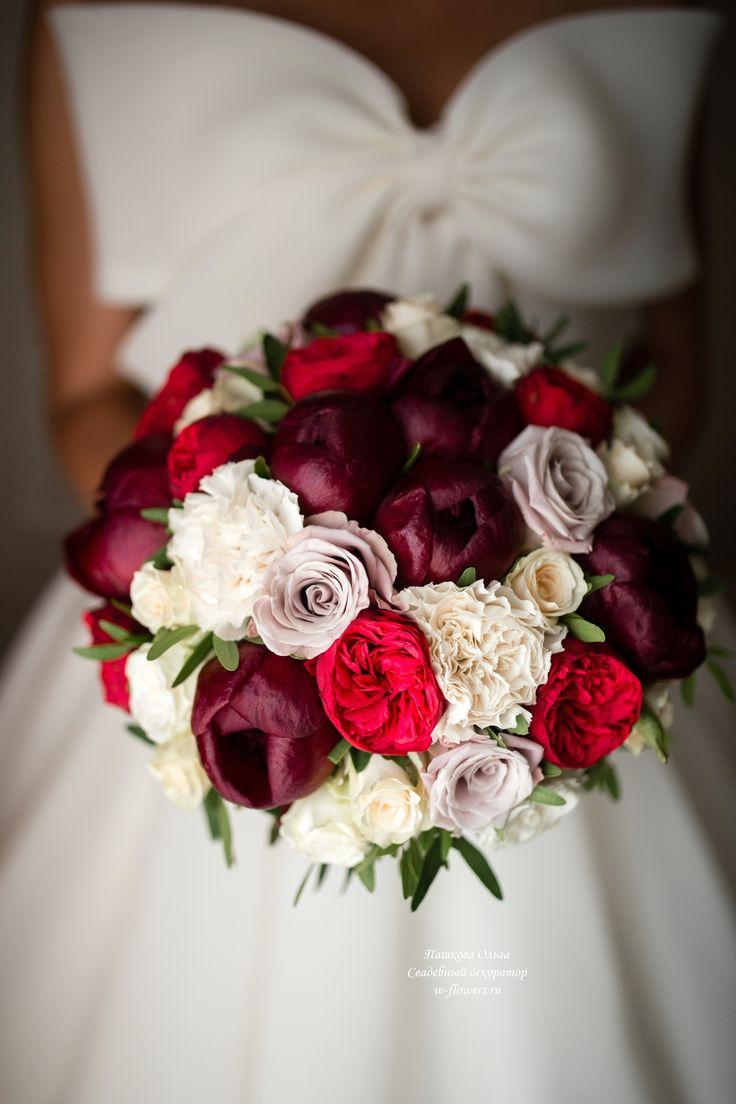 Букет невесты с пионами #букетневесты #свадебныйбукет #букетспионами #bouquet #bride