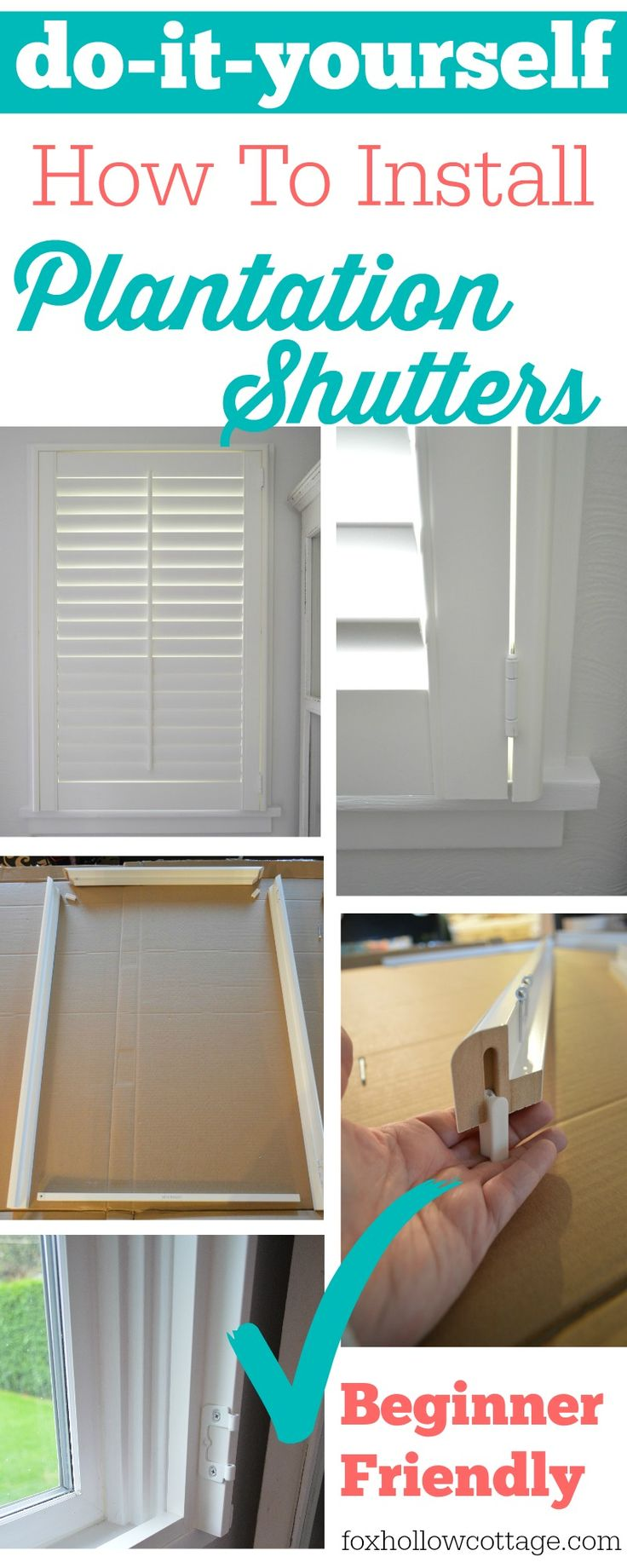 30 best interior shutters images on Pinterest Interior shutters