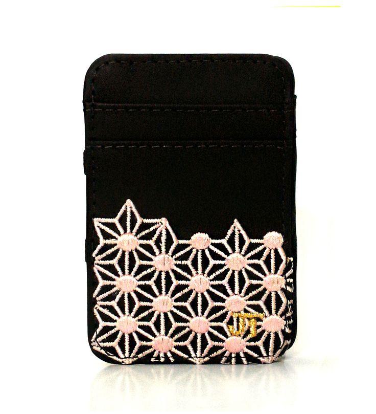 JT Magic Wallet Play Color: Rose and Golden #couro #bordado #fashion #accessories #moda #style #design #acessorios #leather #joicetanabe #carteira #carteiramagica #courolegitimo #wallet