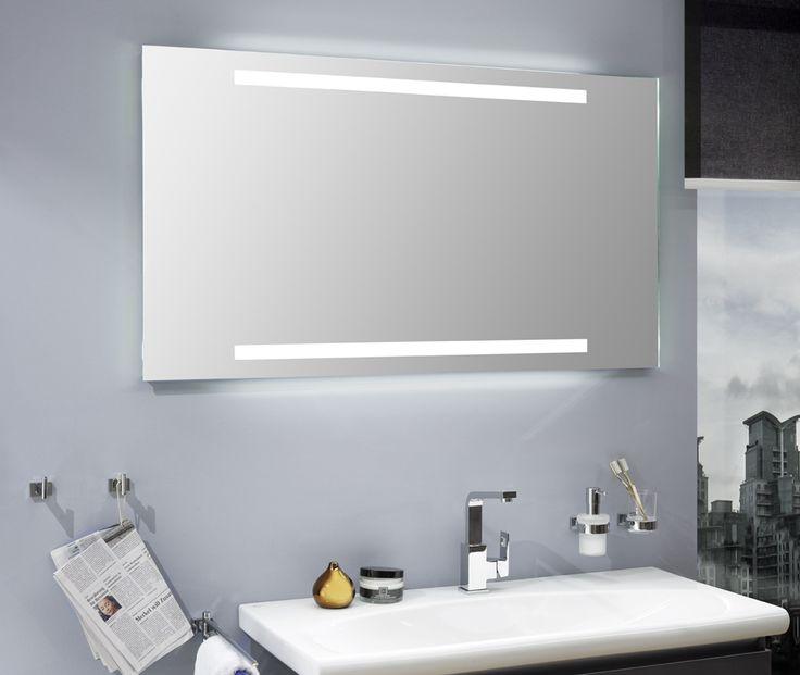 Best Der Badspiegel SPLIT LED TD ist in vielen Gr en und nach Ma mit moderner LED Beleuchtung lieferbar