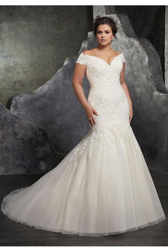 Admirable Wedding Dress Lace, Wedding Dress 2019, Mermaid Wedding Dress, Plus Size Wedding Dress | mais noivas e madrinhas padrinhos ok in 2019 | Wedding gowns, Plus size wedding gowns, Bridal wedding dresses