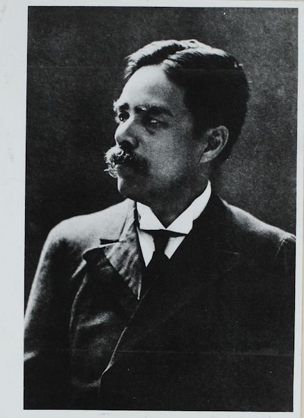 1912年(大正元年)十月  第三回札幌伝道  (三島常磐撮影)  内村先生齢52