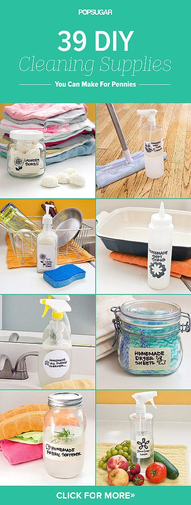 Make These 39 DIY Cleaning Products For Pennies