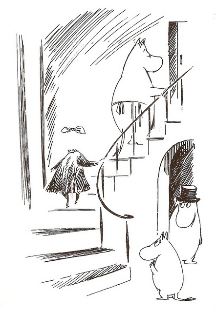 The Invisible Child - not just the best Moomin story, but one of the best stories ever!