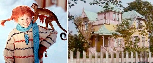 Always wanted to be Pippi's sister and live in her haus.