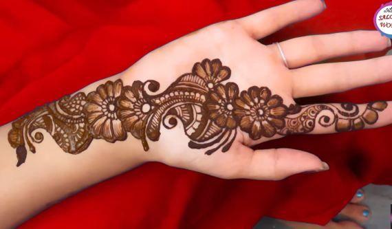 Simple Arabic Henna Mehndi Designs For Hands Crazzy Crafts