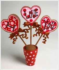 Diy 'I Love You' Valentines Flower Pot