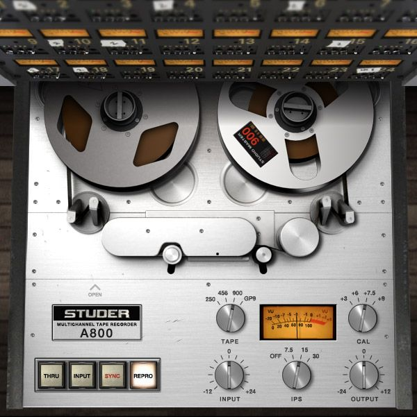 Studer® A800 Multichannel Tape Recorder Plug-In | Universal Audio