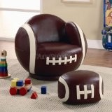 Coaster Furniture 460179 Small Kids Football Chair and Ottoman.......