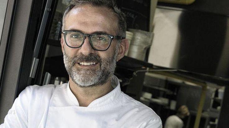 Massimo Bottura, chef de l'Osteria Francescana à Modène (Émilie-Romagne).