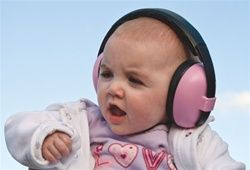 Protective Ear Muffs by Banz - 2 sizes: 6 mos-2 yrs and 2 yrs-6 yrs, $42.95