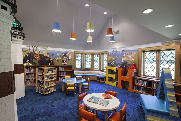 The Toddler Area In The Children S Reading Room At The
