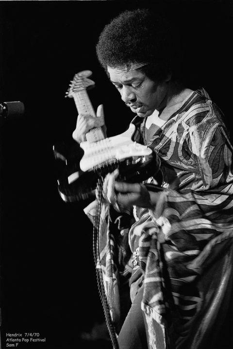 Jimi Hendrix  Byron, Georgia 1970-07-04