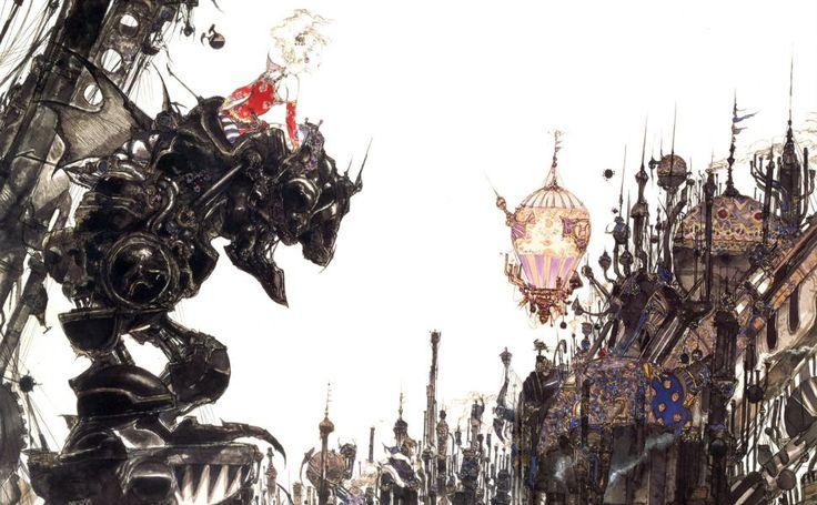 Final Fantasy 3 Snes HD Wallpaper