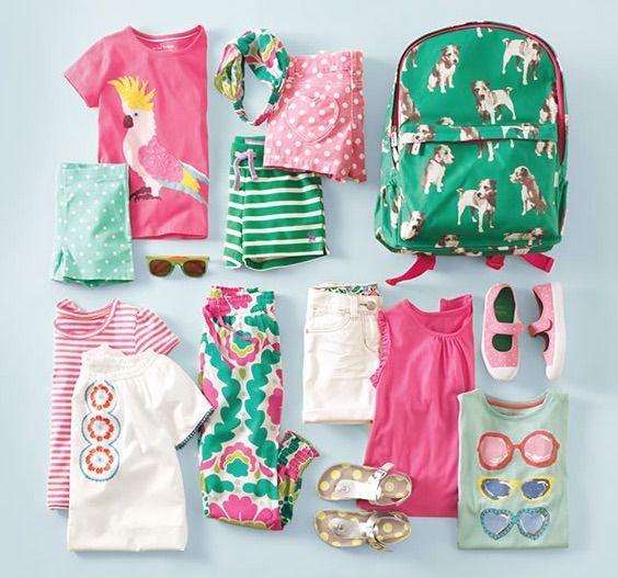 Juegos de vestir osea conjuntos de ropa infantil para el verano