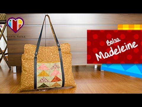 Bolsa sacola em patchwork Madeleine - Aprenda a fazer esta peça e compre tecidos e acessórios no Maria Adna Ateliê - Endereço: Av. das Carinas, 739, Moema, São Paulo - Fones: 11-5042-0145 e 11-99672-8865 (WhatsApp) Email: ama.aulasevendas@gmail.com. Estacionamento próprio. FACEBOOK: https://www.facebook.com/MariaAdnaAtelie.