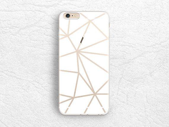 Abstract weißer Block Transparent klarer Fall für das iPhone 6 s, LG G3 G4, Nexus 5 X, HTC eine M9 M8, Sony Z5 compact, Z4, Samsung S6, S7 edge - A25