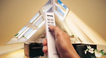 Control your roof window and blinds from anywhere in your home.