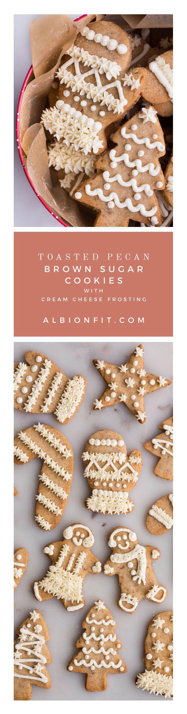 Toasted pecan brown sugar cookies recipe