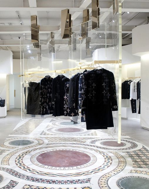 The Interior Design Of Flashy New Versace SoHo Concept Store Bridges Past And Future